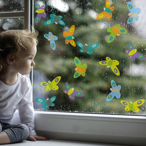 Motýlí třepotání - na okno - poslední 3 ks