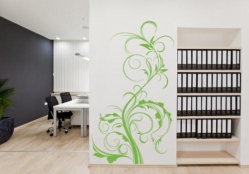 Samolepka - Popínavé rostliny 02 (57 x 100 cm)