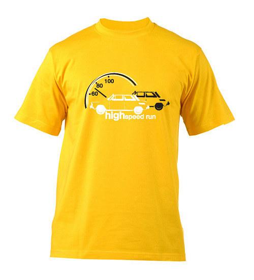 High speed run - tričko s potiskem