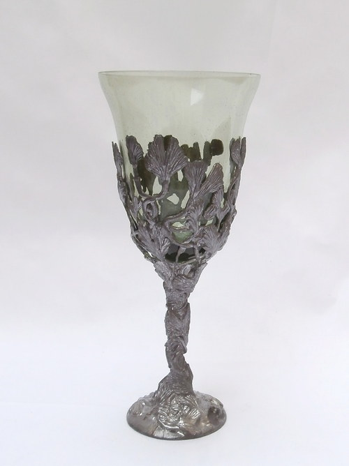 sklenice na víno - ginkgo