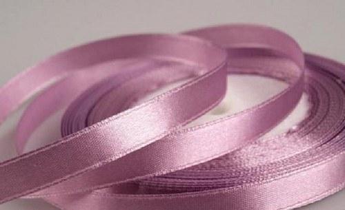 Saténová stuha - Sachet Pink - 1m