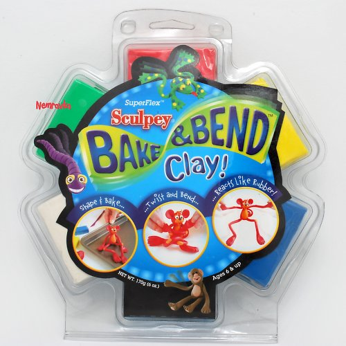 Pružná hmota Bake&Bend