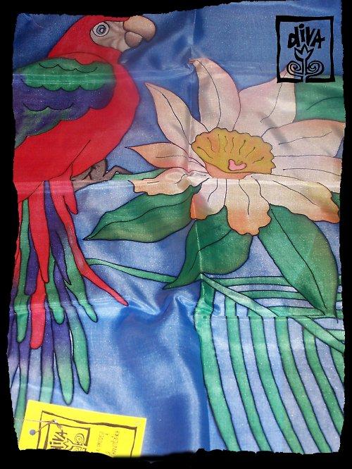 Papoušek ARA - šál