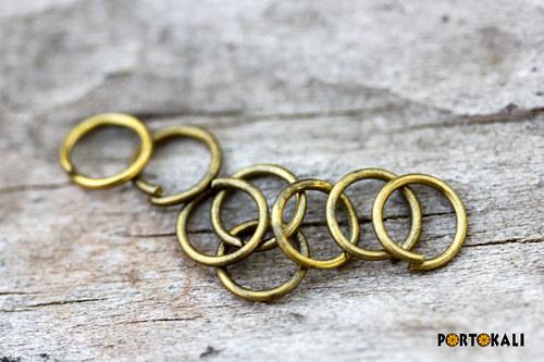 Spojovací kroužky 100 ks