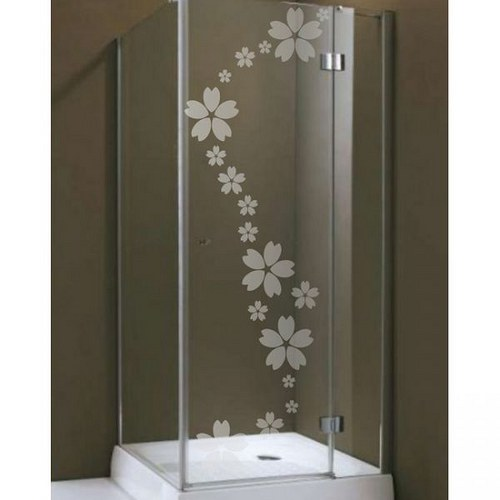 (263g) Nálepka na sprchovací kút