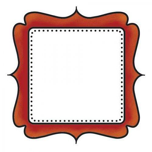Silikonové razítko -  rámeček
