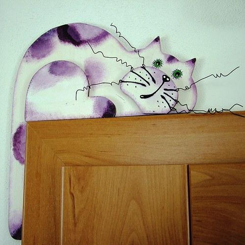 Kočka z Levandulového pokoje