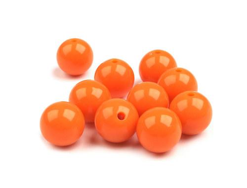 kulička oranžová Ø12mm, 6ks