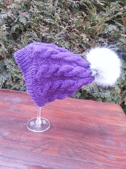 fialový kulíšek