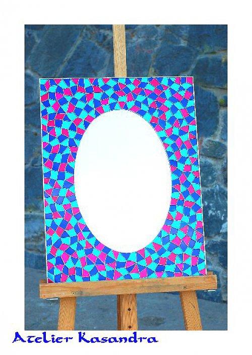 Zrcadlo malované 45x60 cm
