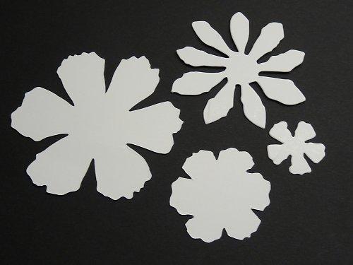 Výseky - 4 květiny Tim Holtz