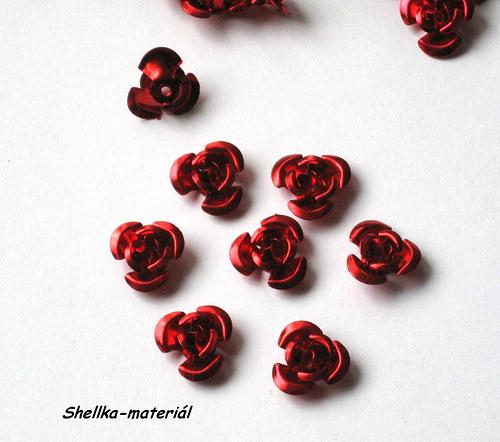 324.Růžičky/ 12mm/ 10 kusů