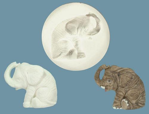 Silikonová forma - slon