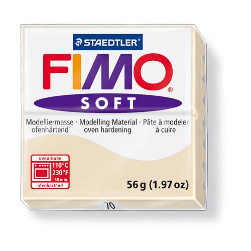 Fimo soft písková 70
