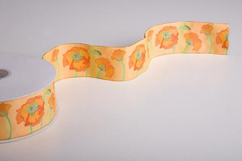 Stuha Máky v oranžové