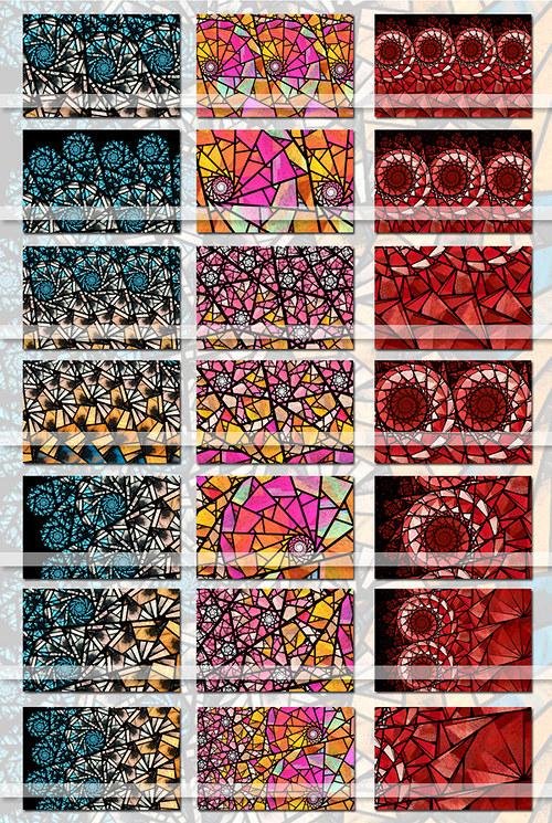Vitráže - Barvy lásky (Motivy)