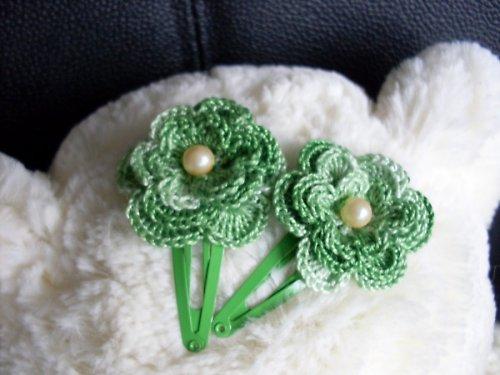Sponky - Veselé květinky 1ks