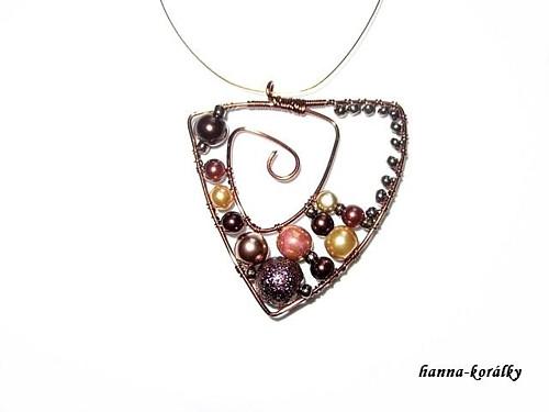 Souprava - náhrdelník + naušnice