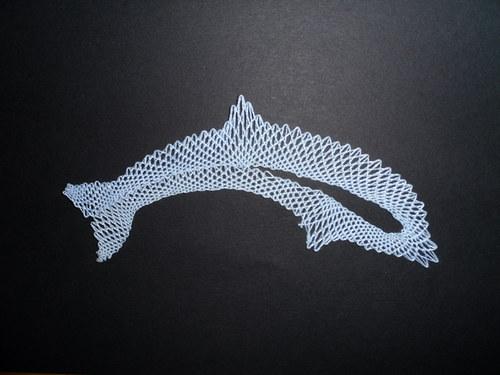 Paličkovaný delfín