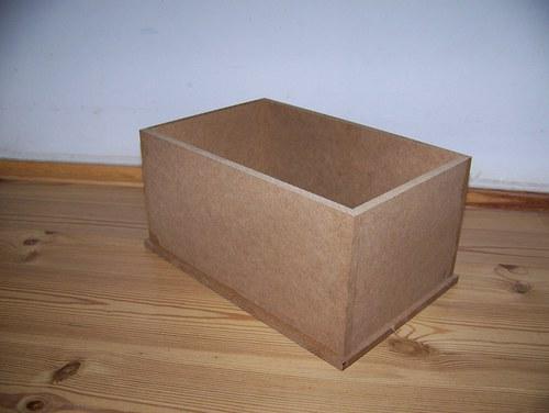 Krabička na DVD/polévky... MDF