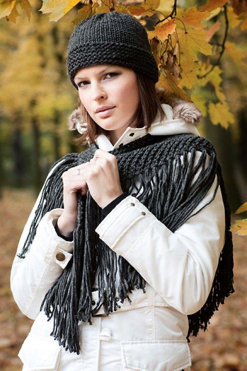 Popis - návod na pletenou čepici hladkou