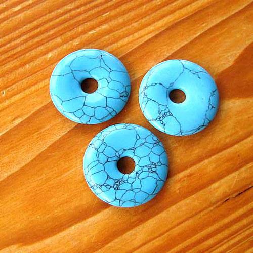 Donut z Tyrkenitu - 3cm