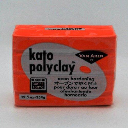 Kato Polyclay velké balení / Oranžová