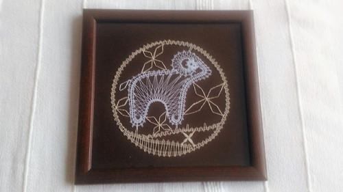 Paličkovaný obrázek - Znamení beran