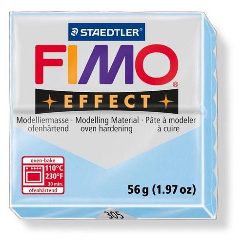 """Fimo effect pastelová světle modrá \""""voda\"""" 305"""