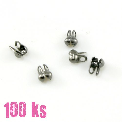 Kalota gunmetal, 4,5x2 mm, 100 ks