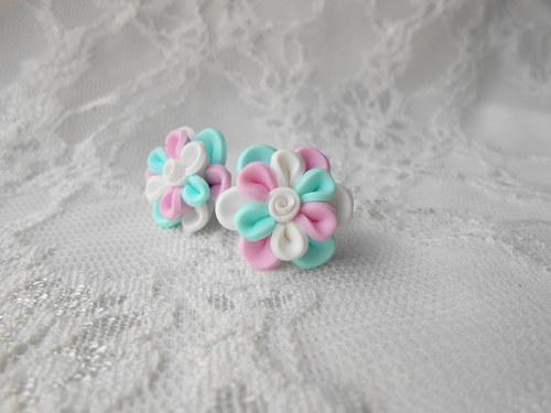 Květinky pastelové