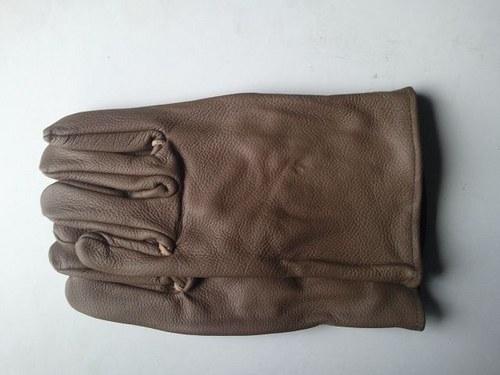 Celolícové kožené rukavice dámské