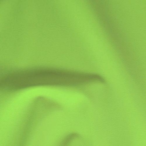 D56  Textilní kůže - koženka ZELENÁ LIMETKA, á 1m