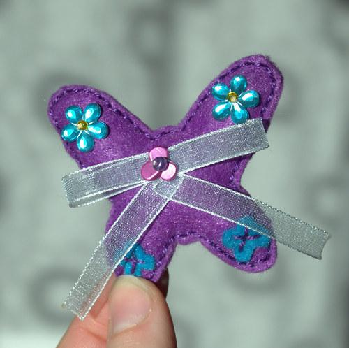 slečna Anička motýlková