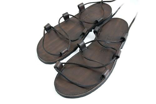 Kožené sandále Kristusky Legend