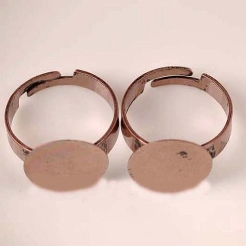 Prsten 15mm - Měděný
