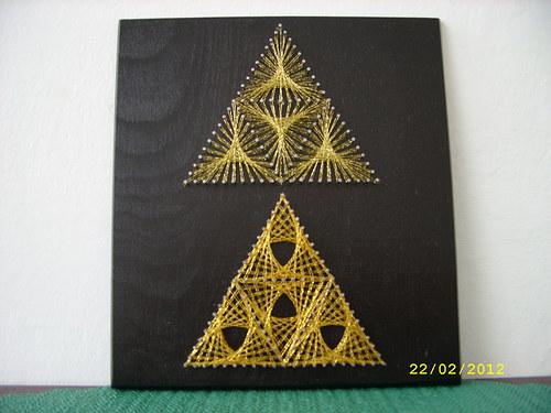 Malé trojúhelníky č.8.