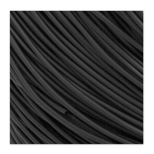 Gumová šňůrka / 2 mm / Černá