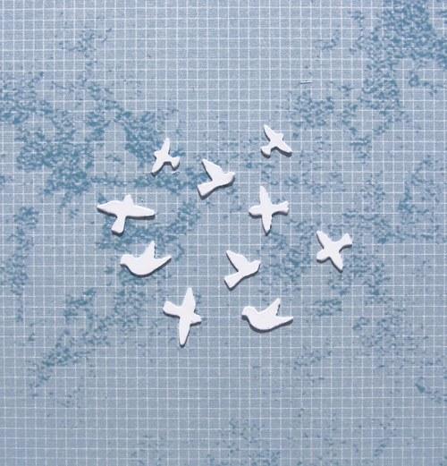 Ptáčci mini - 10 ks