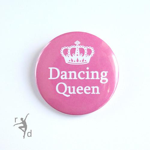 Placka DANCING QUEEN (odznak)