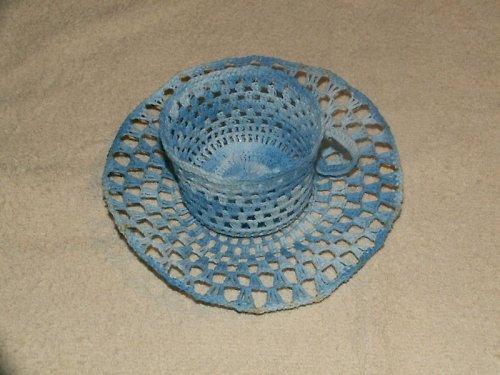 šálek s talířkem