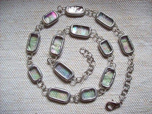 Náhrdelník s perleťovým efektem