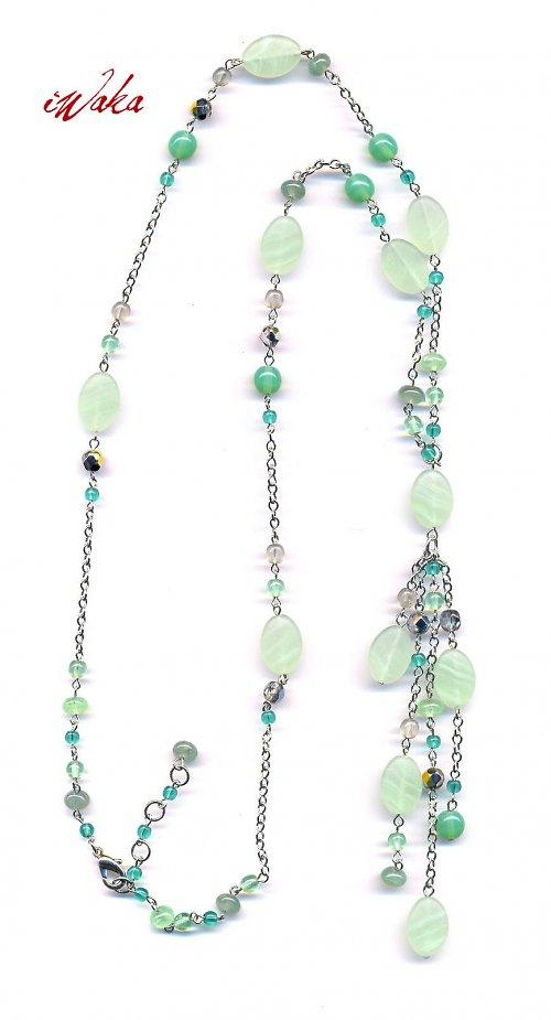 Zelený náhrdelník