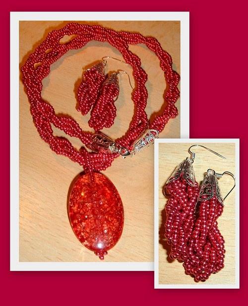 Červený pletenec