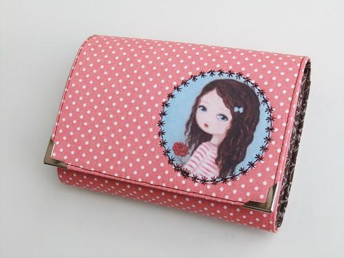 Rozálka I. - peněženka i na karty 13 cm