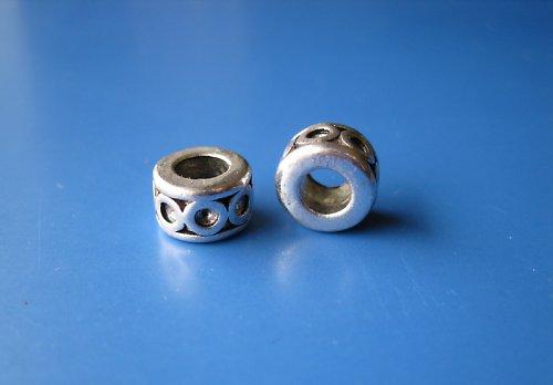 Komponent kroužek s kroužky, cena za 2ks