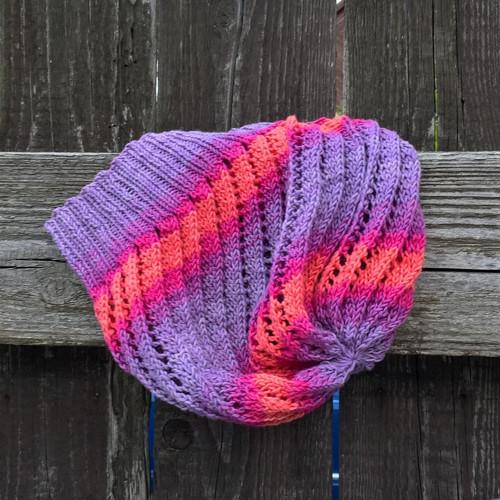 Červánky - bavlněná čepice