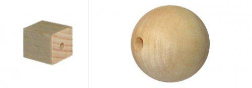 Dřevěná kulička 30mm DL185