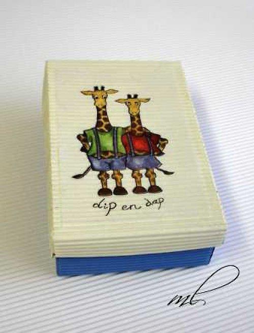 Krabička s dětským motivem