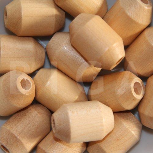 dřevěné korálky 20x30mm